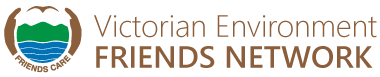 Victorian Environment Friends Network Sticky Logo