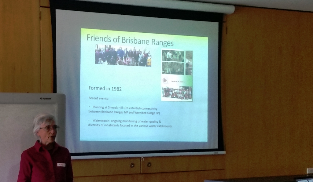 Cathy Powers, Friends of Brisbane Ranges